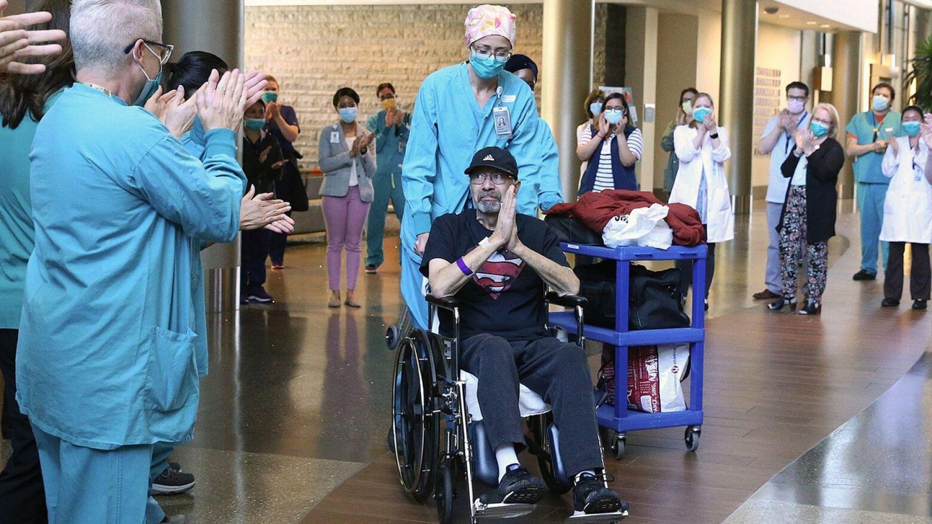 Американец получи сметка от над $1 млн. за лечението си от коронавирус