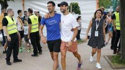 Олимпийски шампион защити Гришо: Бащата на Джокович заслужава удар в лицето