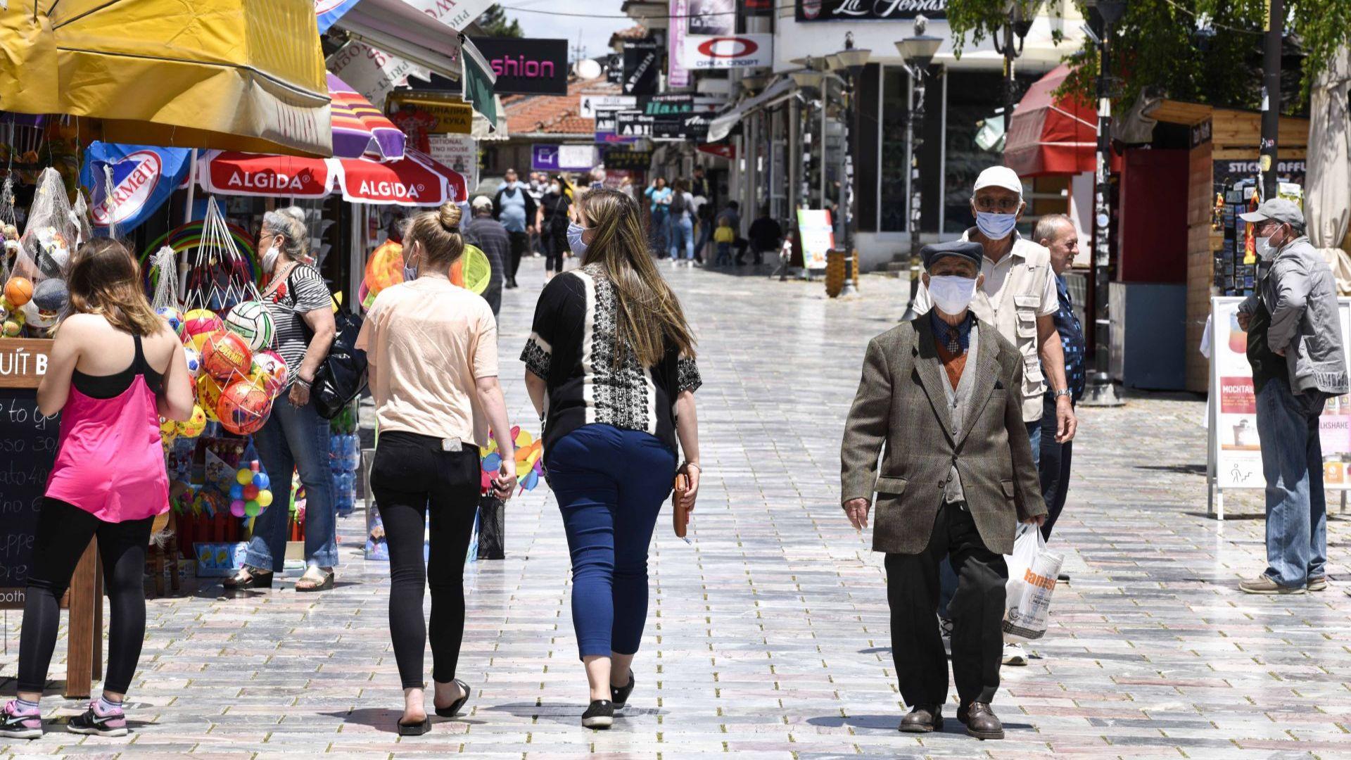Правителството на Северна Македония  разреши  транзитното преминаване на туристи