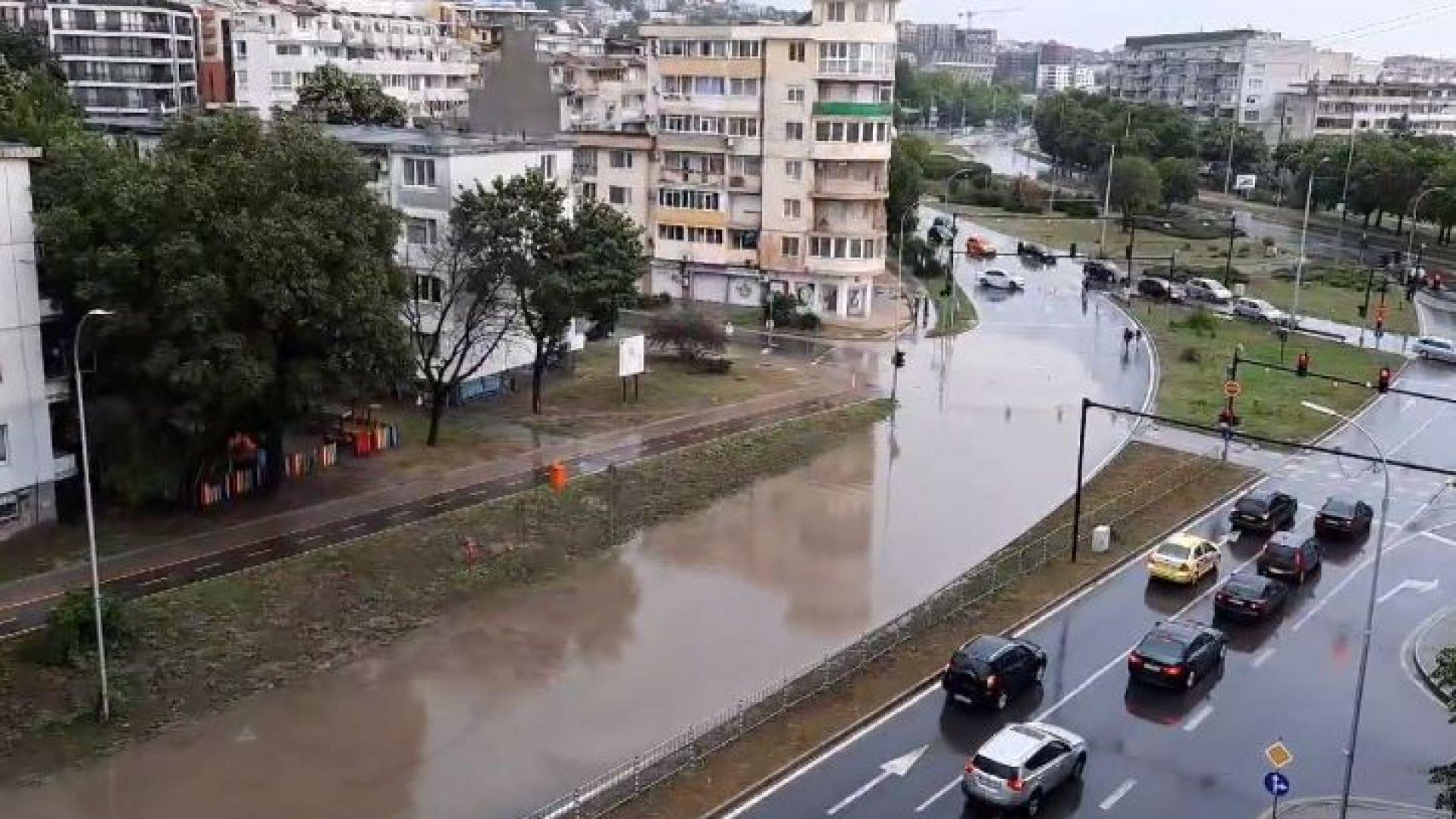 Порой във Варна затвори част от главен булевард