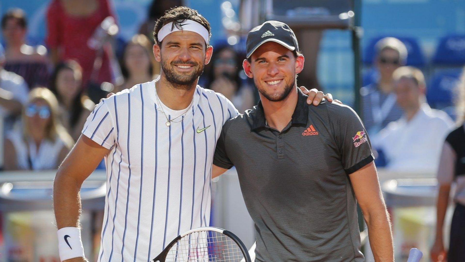 Световният №3: Григор има страхотен стил и е най-добре изглеждащият тенисист