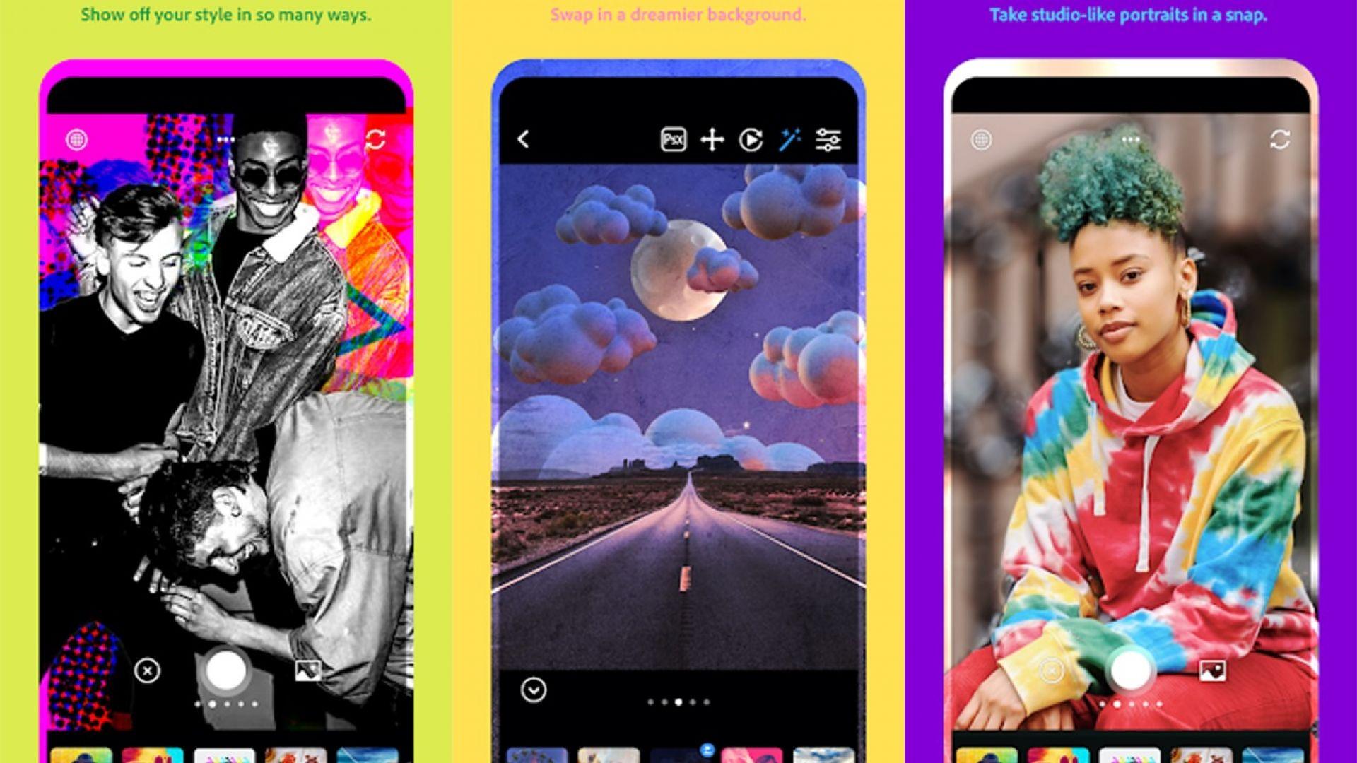 Adobe Photoshop с ново безплатно приложение за телефон