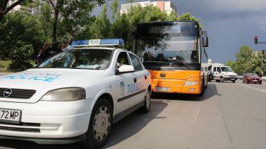 Автобус на градския транспорт блъсна дете с тротинетка в София