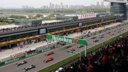 Китай може да се сдобие с още един старт от Формула 1