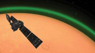 Откриха система от солени езера на Марс