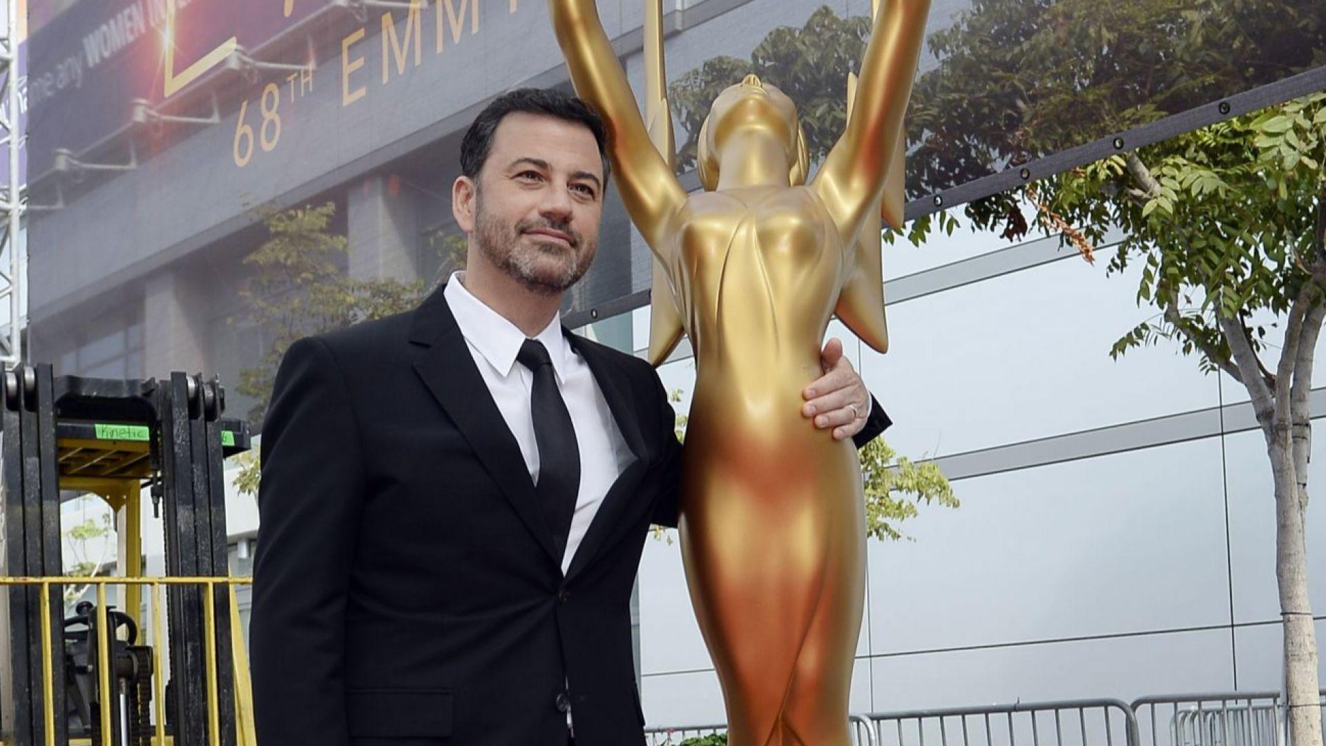 """Джими Кимъл ще води церемонията за наградите """"Еми"""" за праймтайм предавания"""