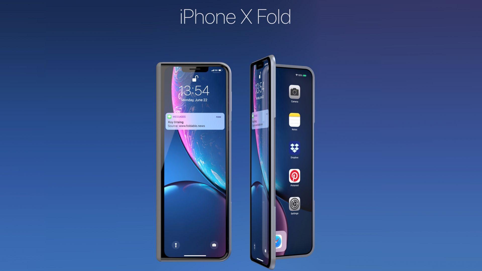 Подготвят сгъваем iPhone