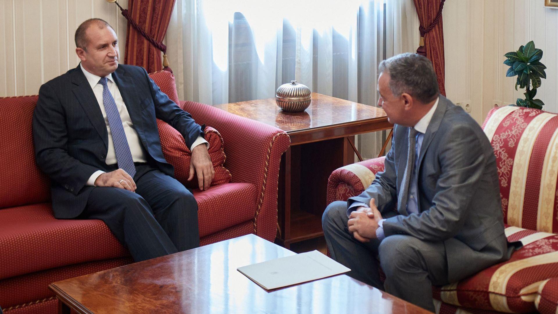 """По време на срещата на """"Дондуков"""" 2 президентът подчерта, че народите на България и Украйна споделят дълбоки исторически, културни и духовни връзки"""