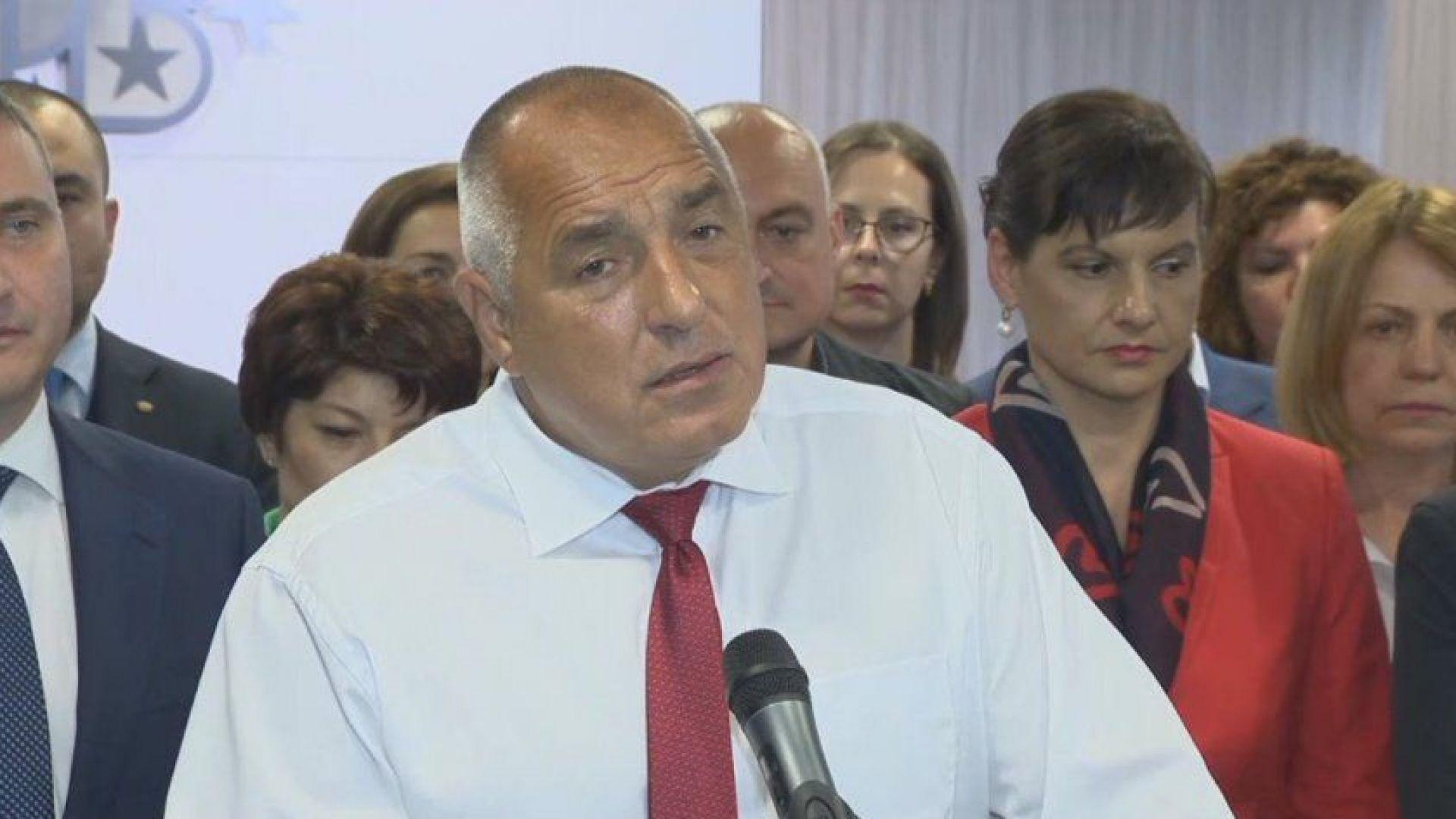 Борисов: Противниците ни удариха дъното. Има пробив в НСО, Радев ме следи с дрон