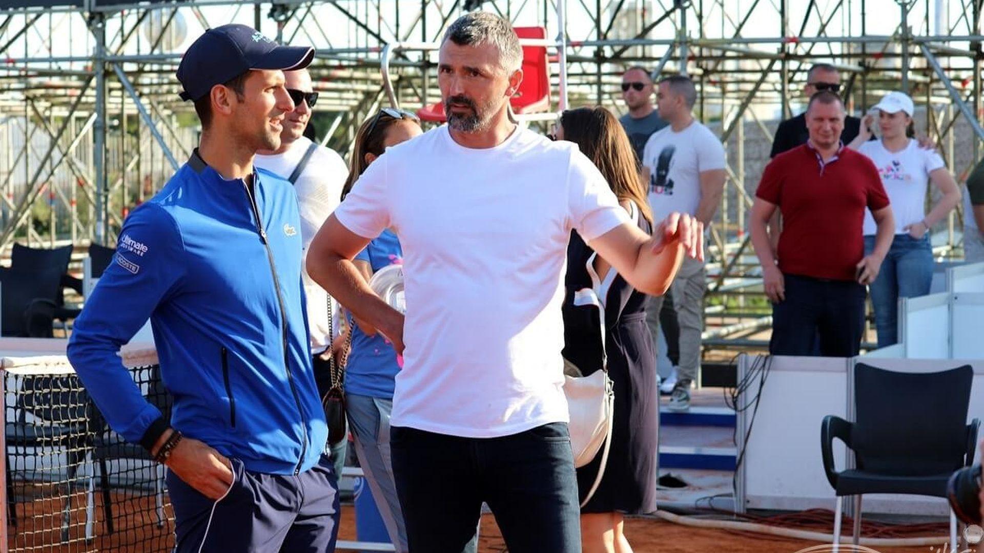 Григор и Ноле вече са в Хърватия, чака ги шоу на 9-хиляден стадион