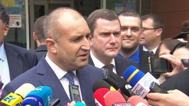 Радев отвърна на Борисов за дрона и НСО: Има твърде развинтена фантазия, да си прецени познатите (видео)