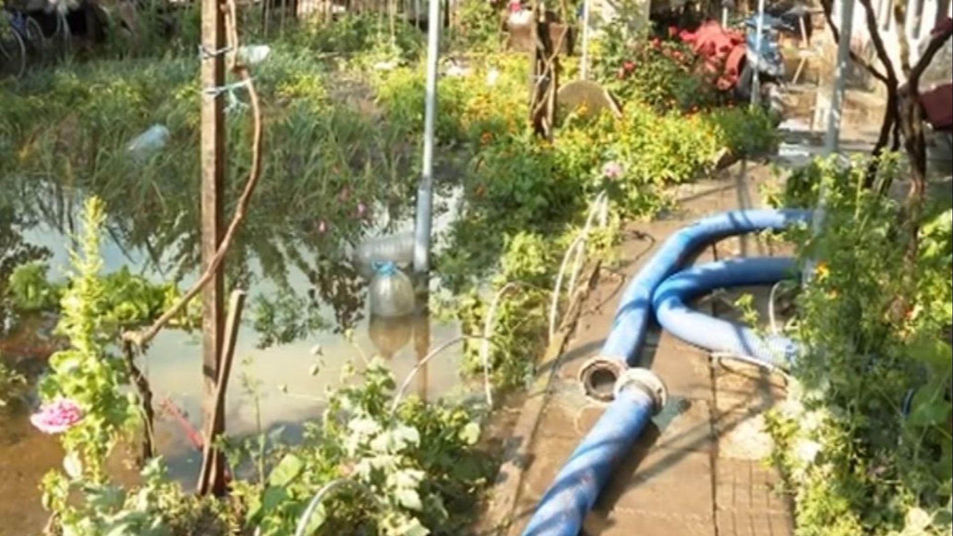 Порой наводни част от Хитрино
