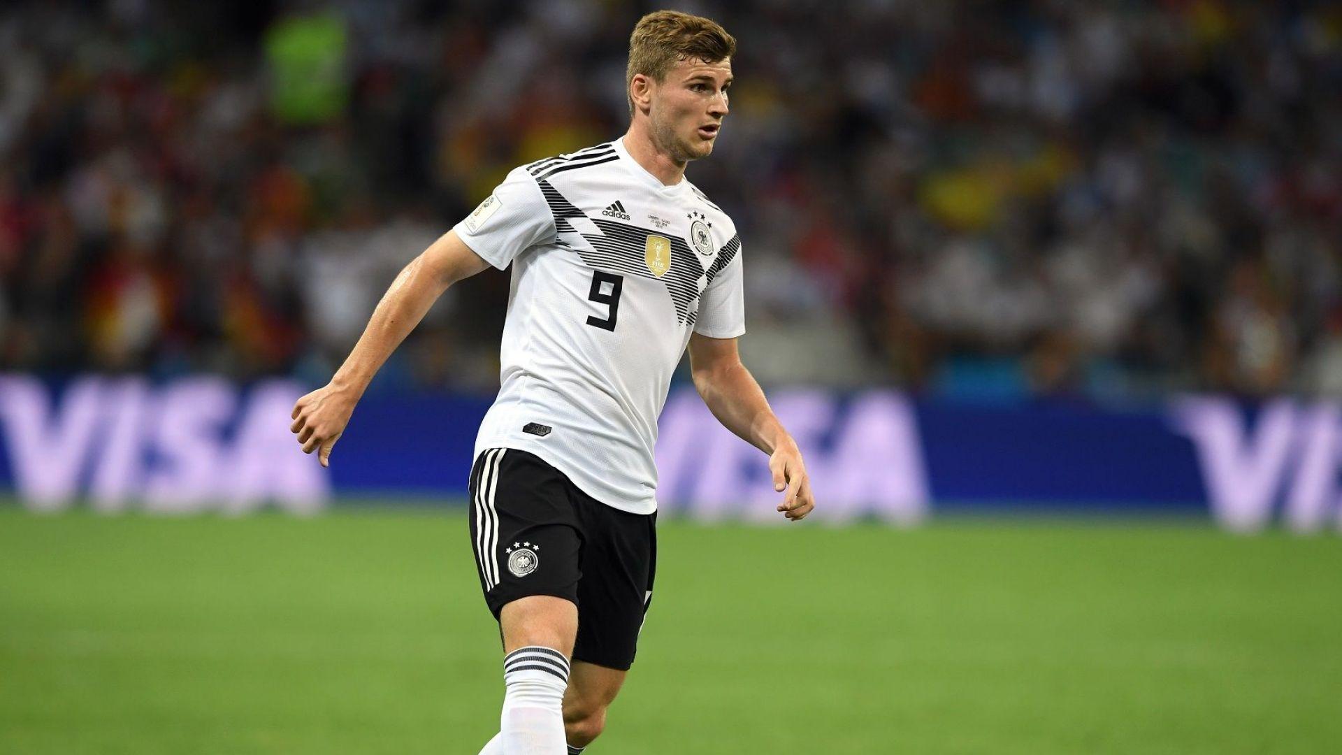 Челси се похвали, подписва с немския национал Тимо Вернер
