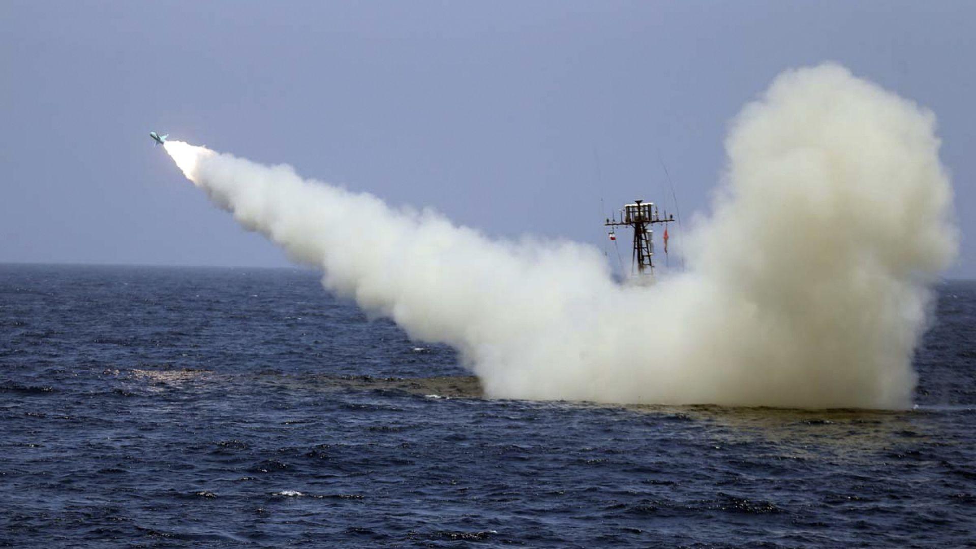 Иран изпита крилата ракета по време на военноморско учение