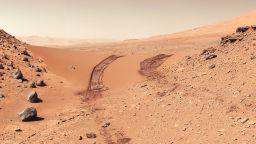 """В миналото на Марс е имало """"меганаводнение"""""""