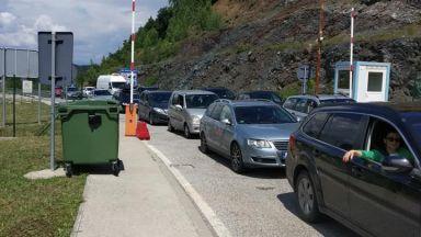 Коли и автобуси влизат в Гърция само през Кулата, на Маказа пускат само леки автомобили и бусове