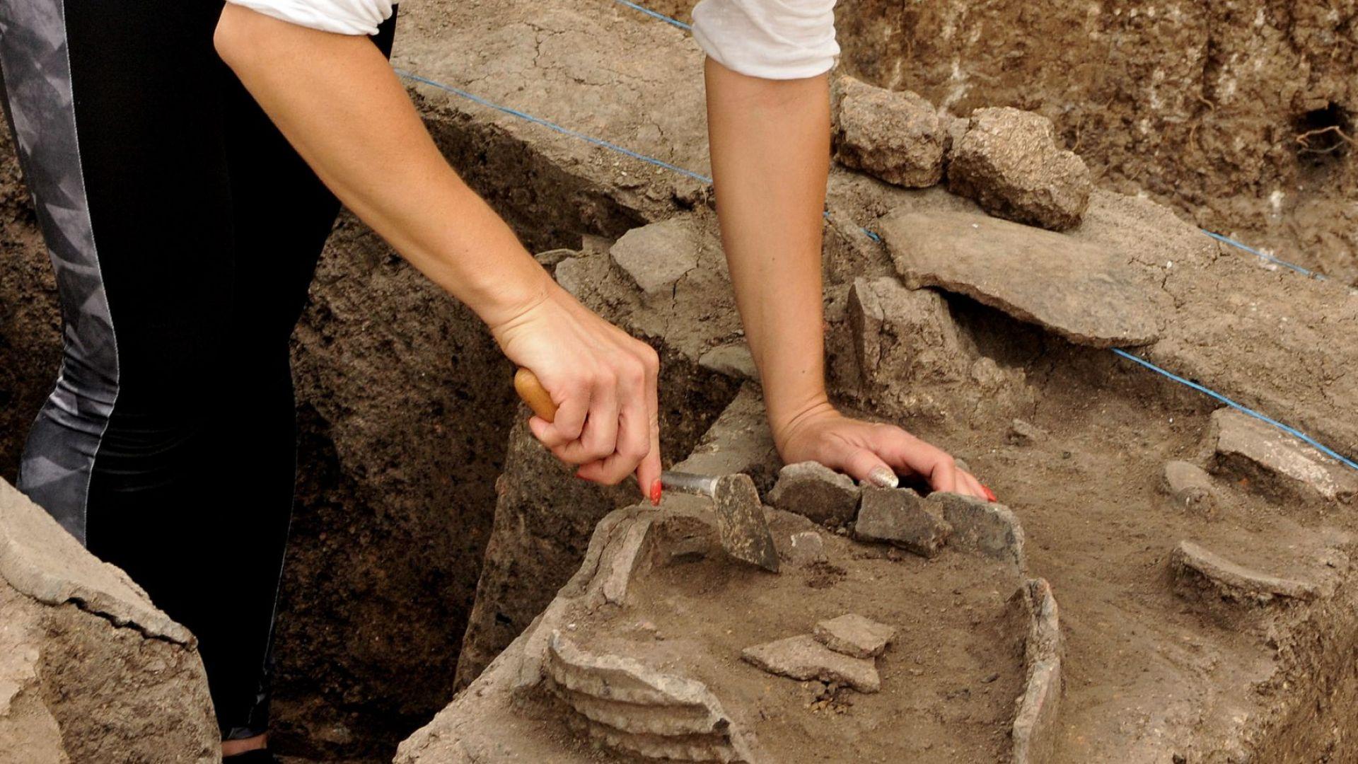 Откриха нови находки при тракийското светилище в Бургас