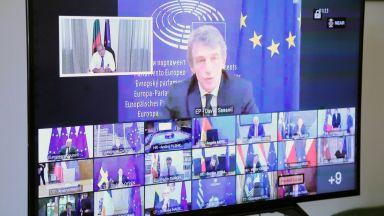 Борисов пред ЕС: Приемаме схемата €500 млрд. грантове, €250 млрд. заеми