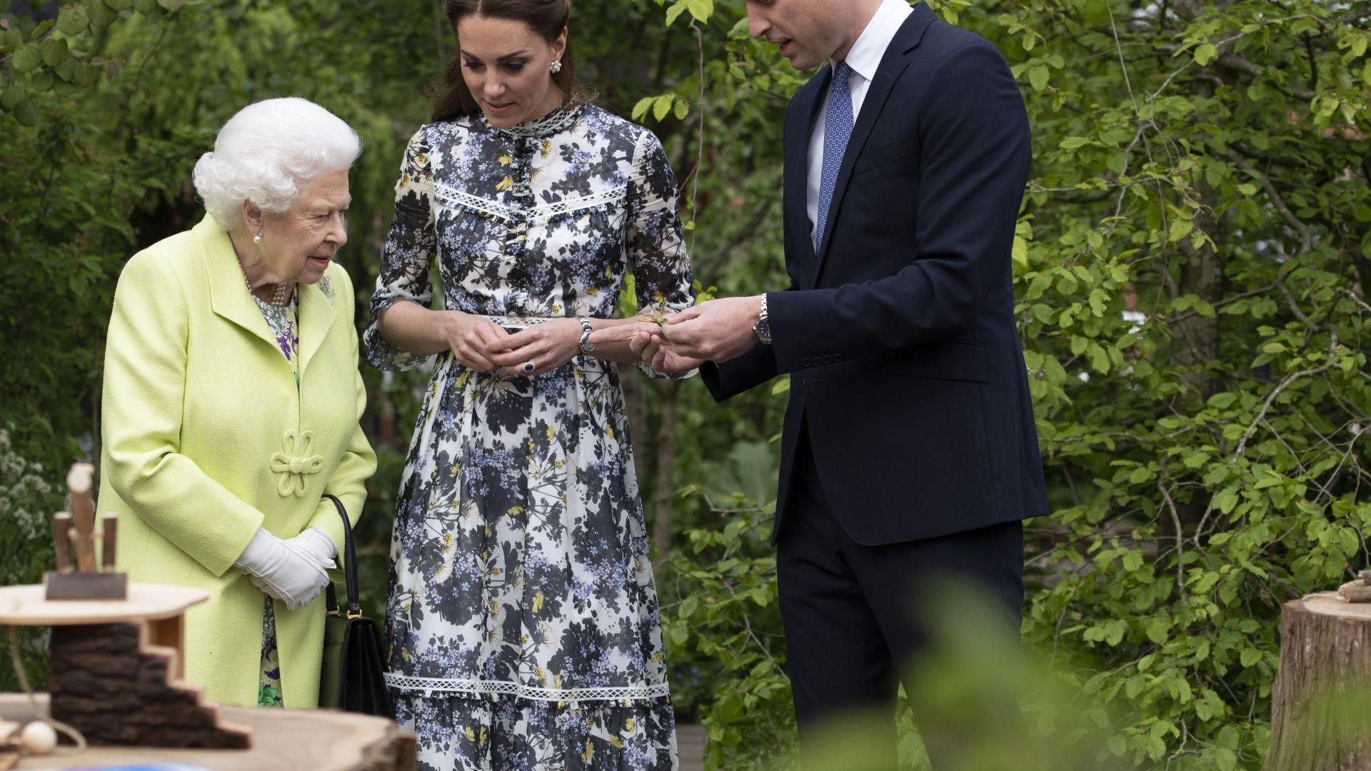 Кралица Елизабет II, принц Уилям и Кейт с послание към британския бизнес