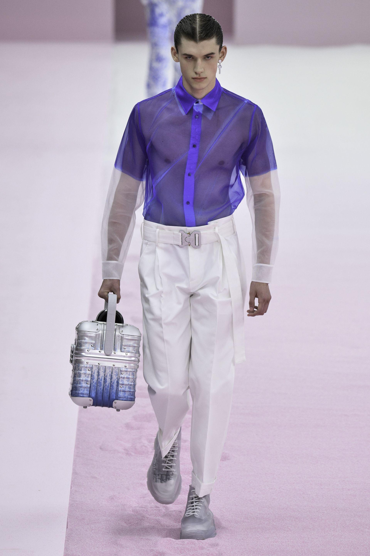 """""""Sheer"""" мода или прозрачни дрехи за мъжете"""