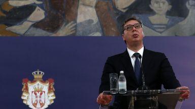 Сръбският президент: Ако мислят, че ще ни ударят с чук по главата, за да признаем Косово, няма да стане
