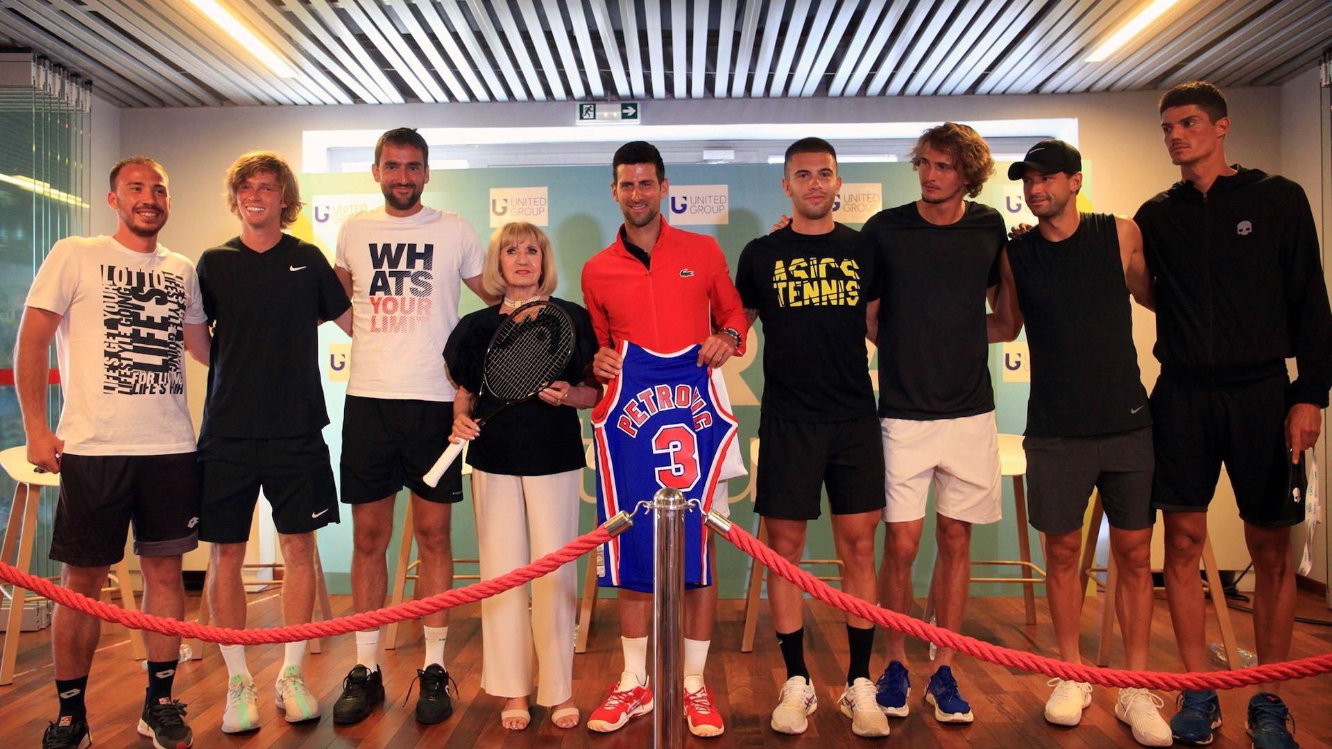 Григор ще играе с Джокович в Задар