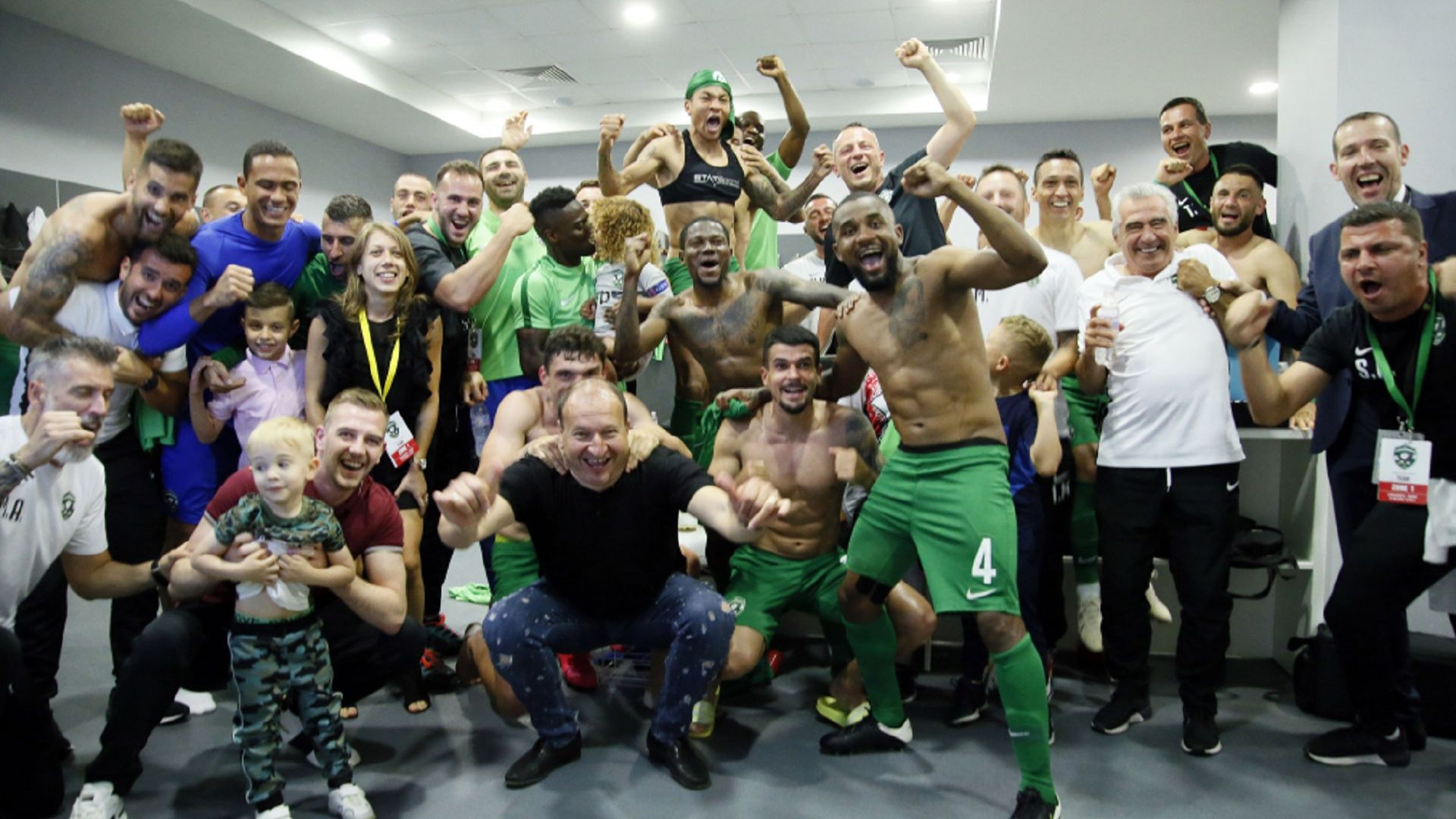 Лудогорец е шампион на България за девети пореден път