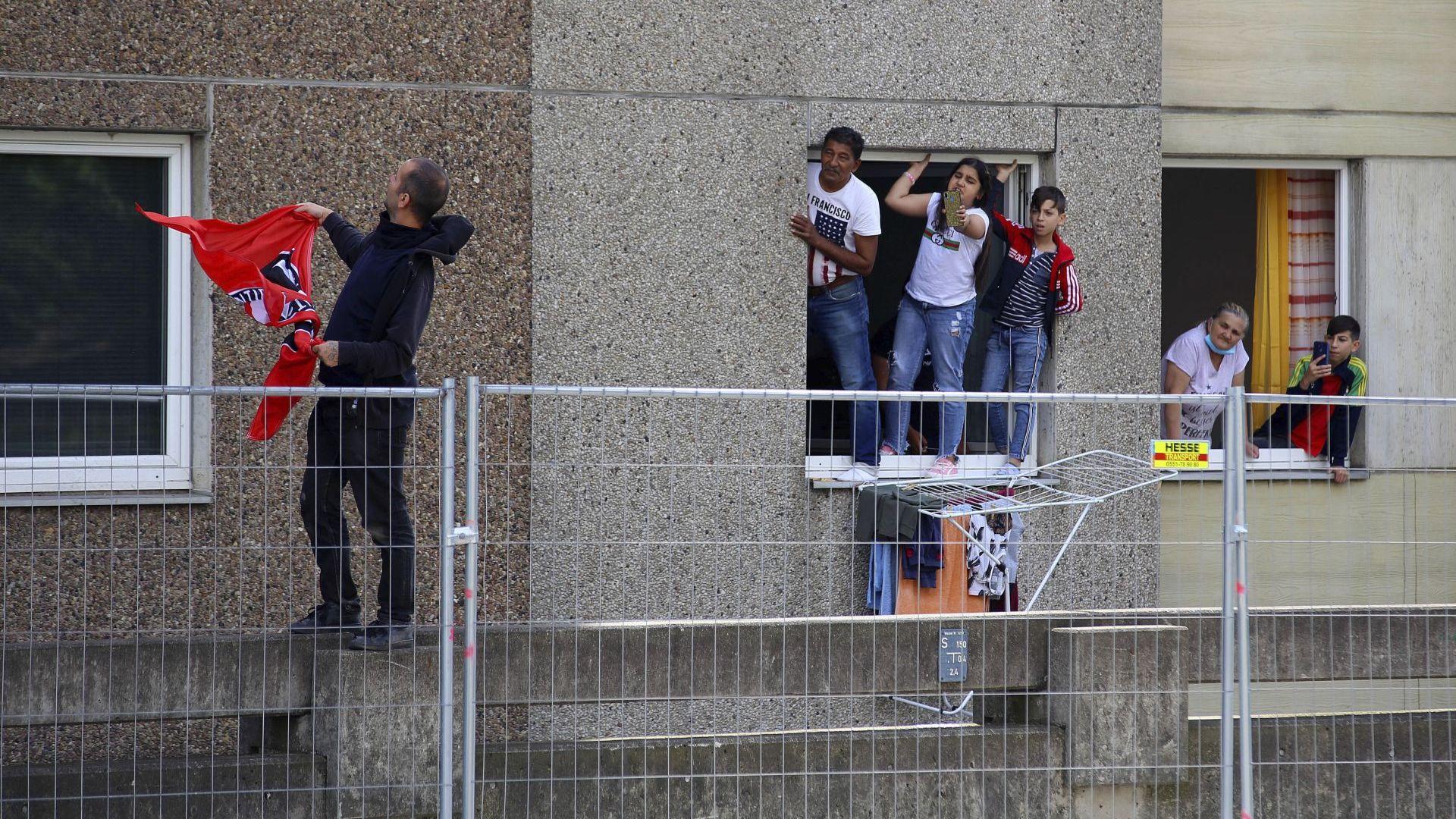 Полицията започна принудително налагане на карантина в Гьотинген