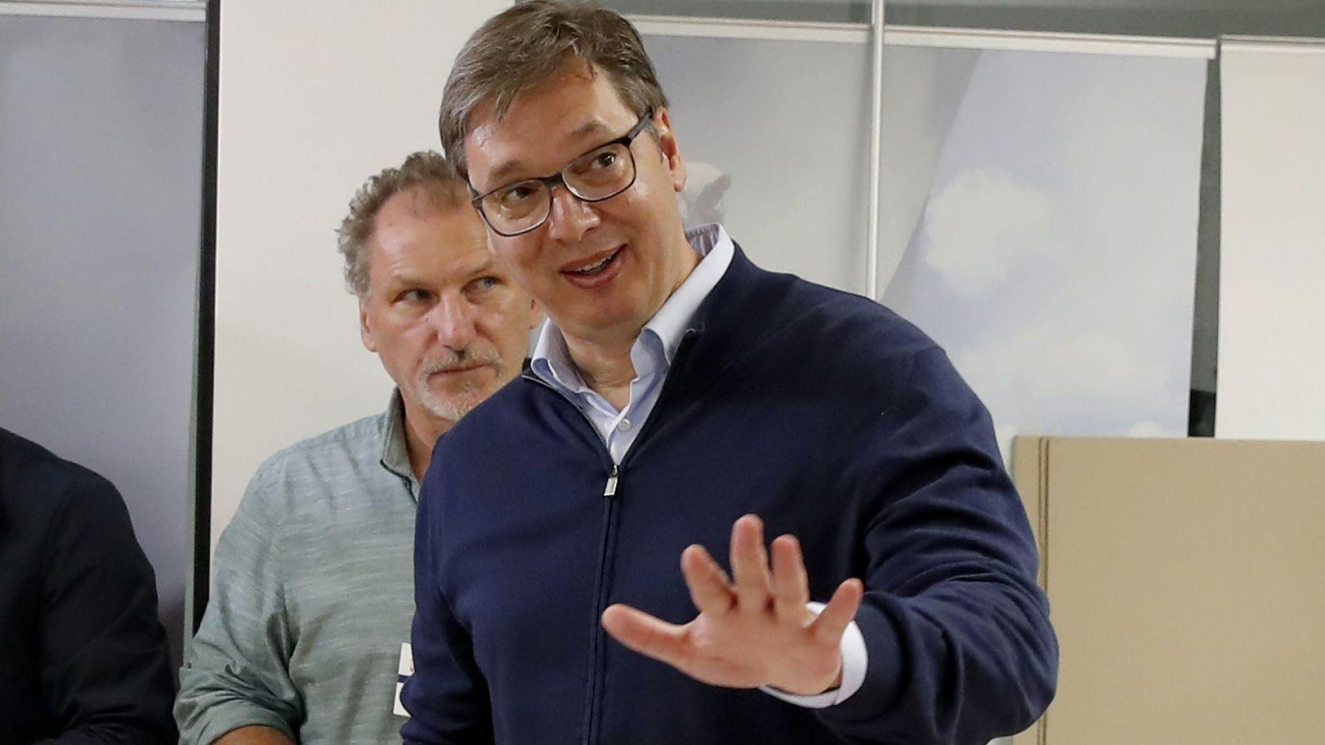 Вучич след победата на изборите в Сърбия: Печелим, но това не значи, че народът е доволен от нас