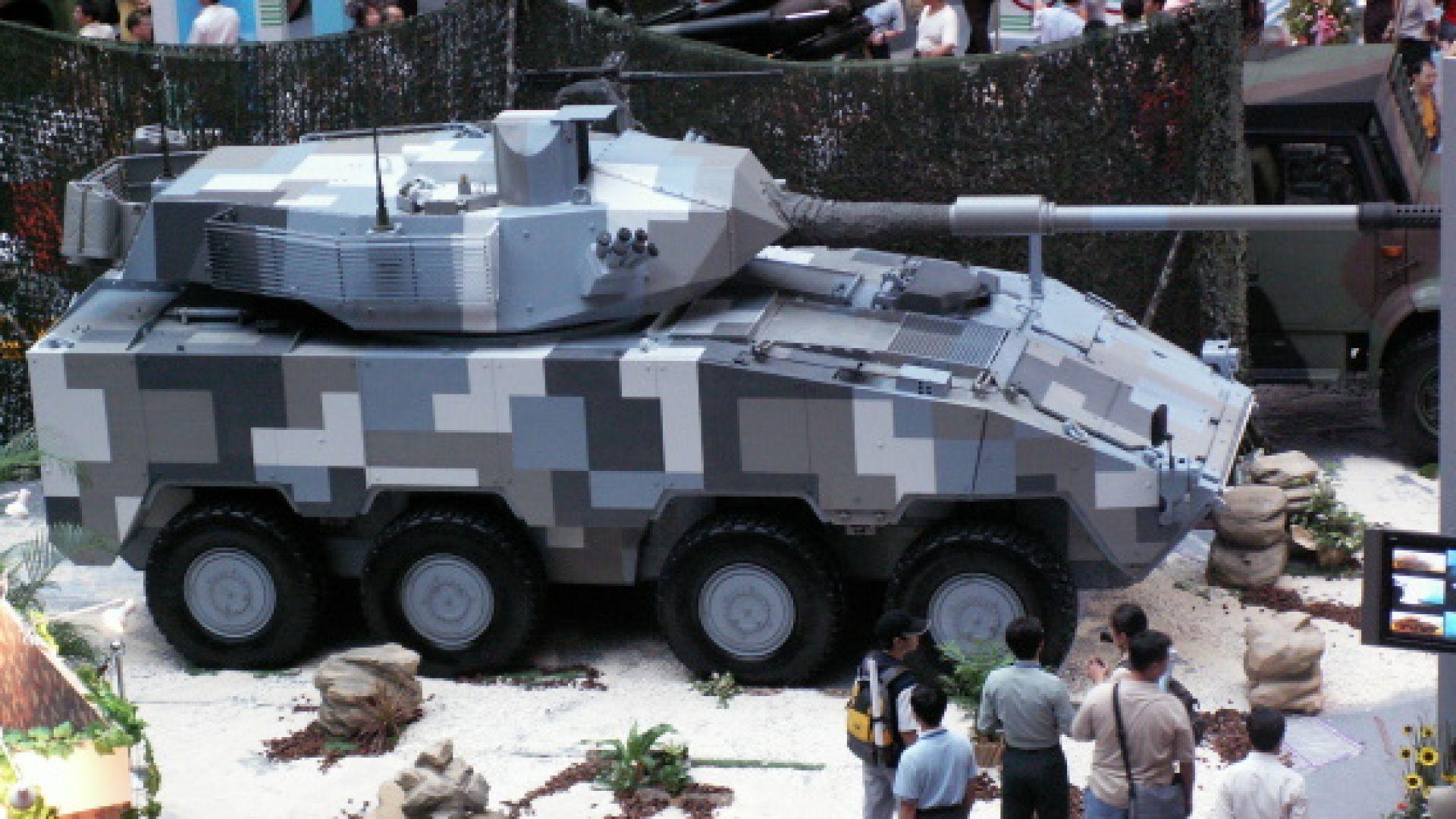 Колесният танк на Тайван (снимки)