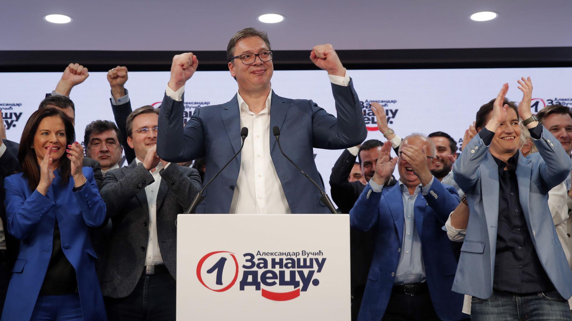 Един феноменален успех: Вучич и неговата система за управление на Сърбия
