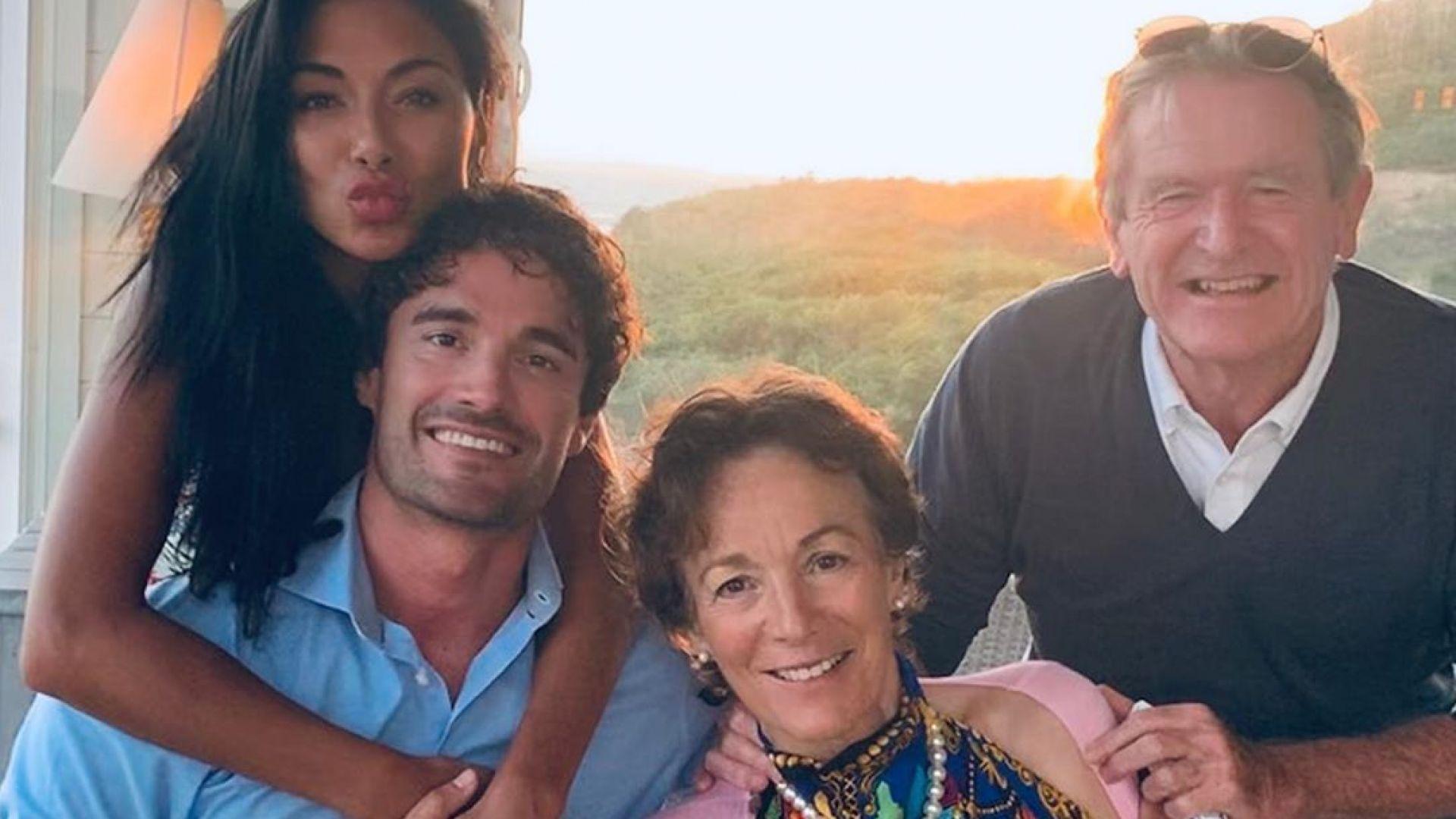 Нещата стават сериозни – Том Евънс запозна Никол Шерцингер с родителите си