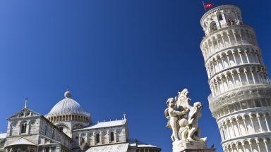 Наклонената кула в Пиза - легендарната грешка на eдин архитект (ВИДЕО)