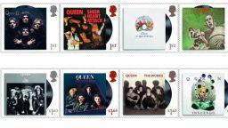 Британските кралски пощи пускат серия марки с Queen
