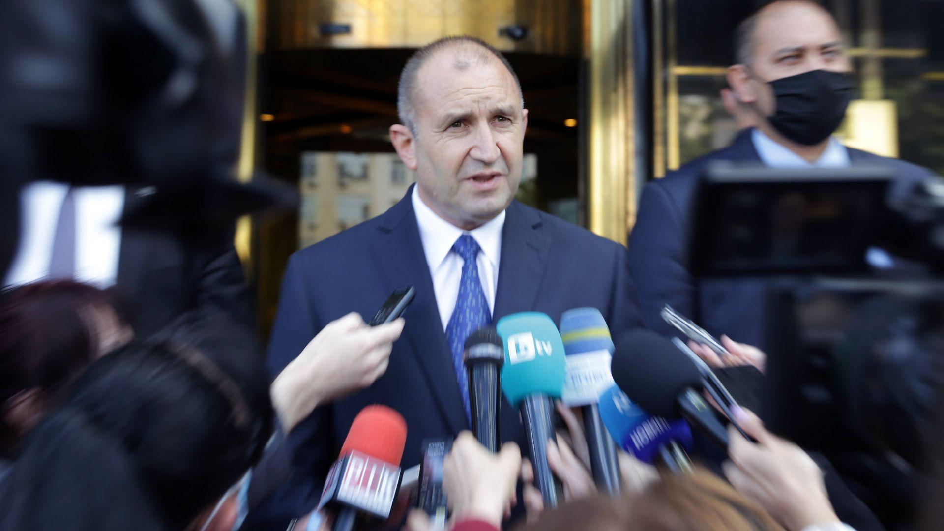 Президентът: Прокуратурата дава тон за погазване на закона и подпомага кризисния пиар на премиера