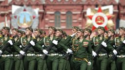 Гледайте военния парад в Москва (видео)