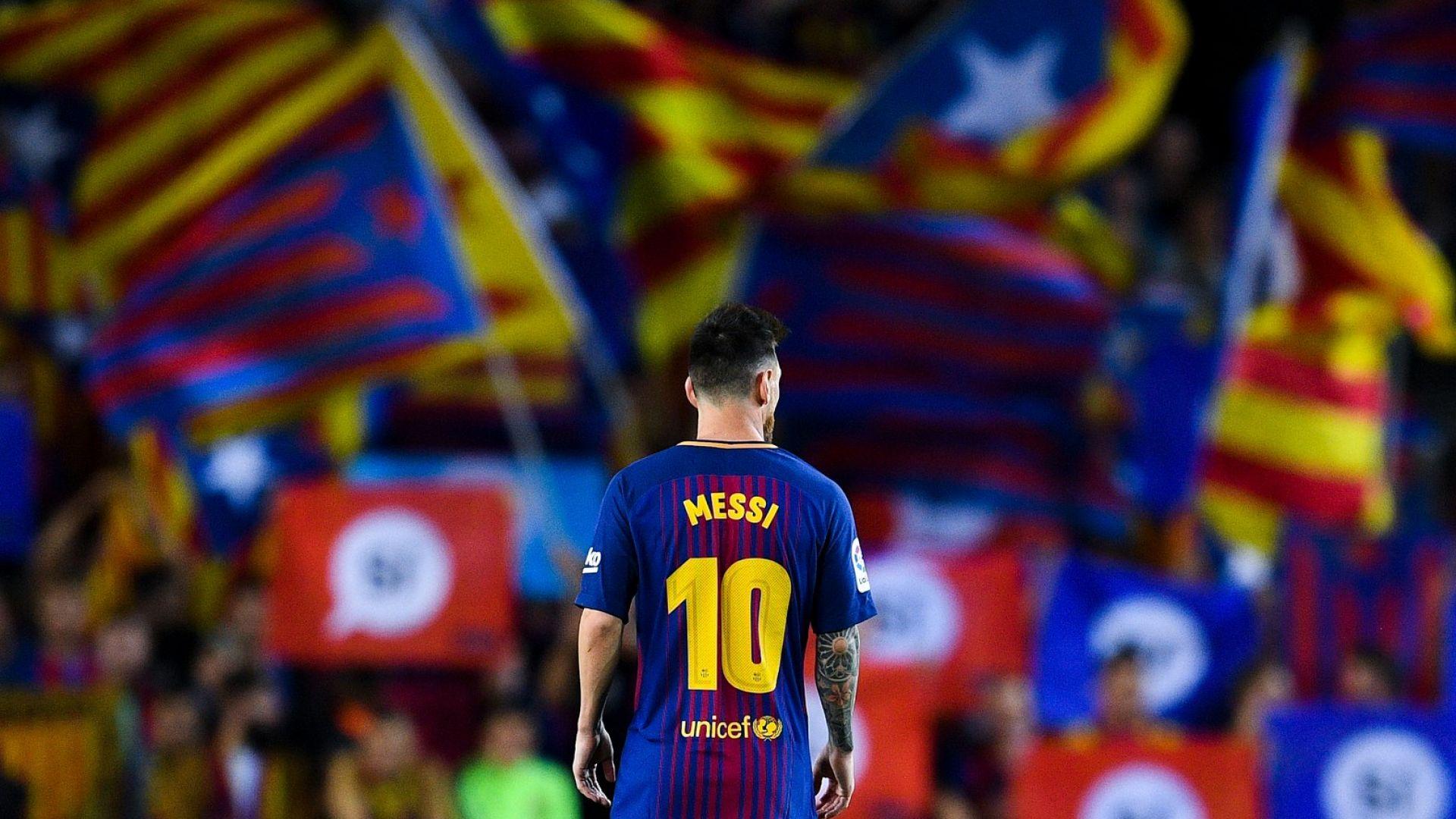 От Интер отрекоха за Меси: Утопия е да напусне Барселона