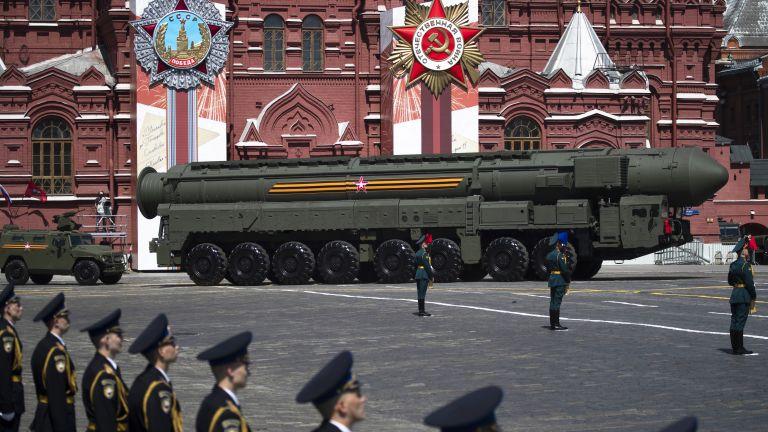"""Ядрената междуконтинентална ракета """"Ярс"""""""