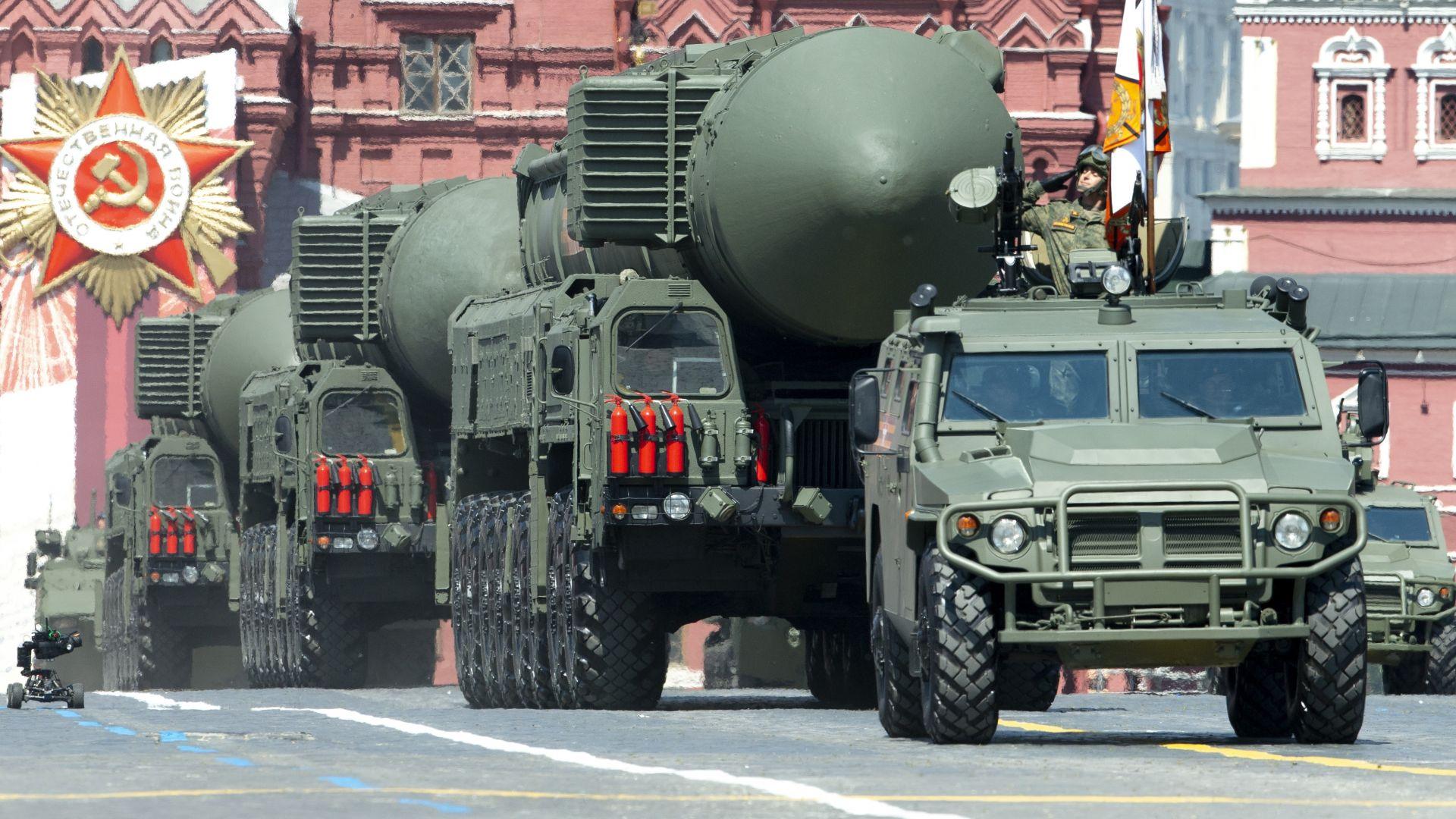 """Русия разкри характеристики на балистичната ракета """"Ярс"""""""