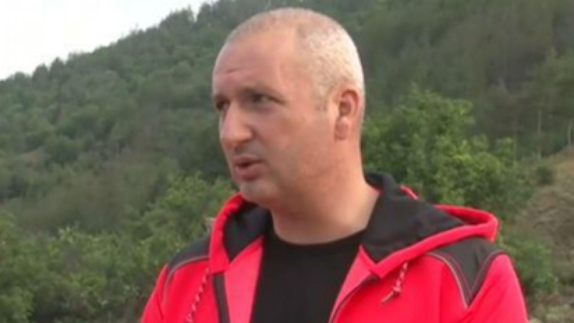 Инцидентът е станал при поставянето на рамката в участък, в който е направен пробив, казва Тотев