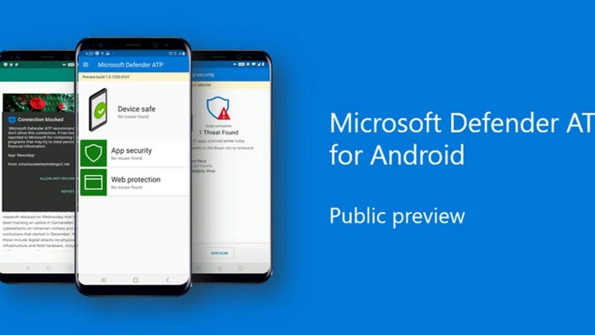 Microsoft Defender вече защитава и Android