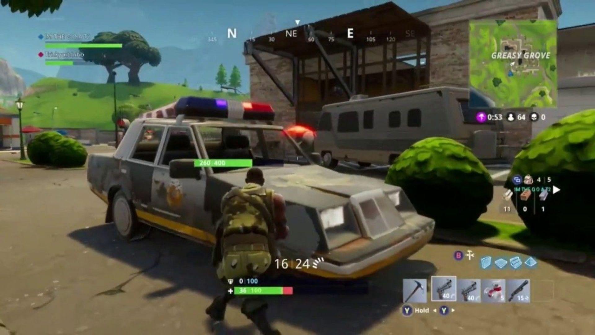 Epic Games премахна полицейските коли в новия сезон на Fortnite