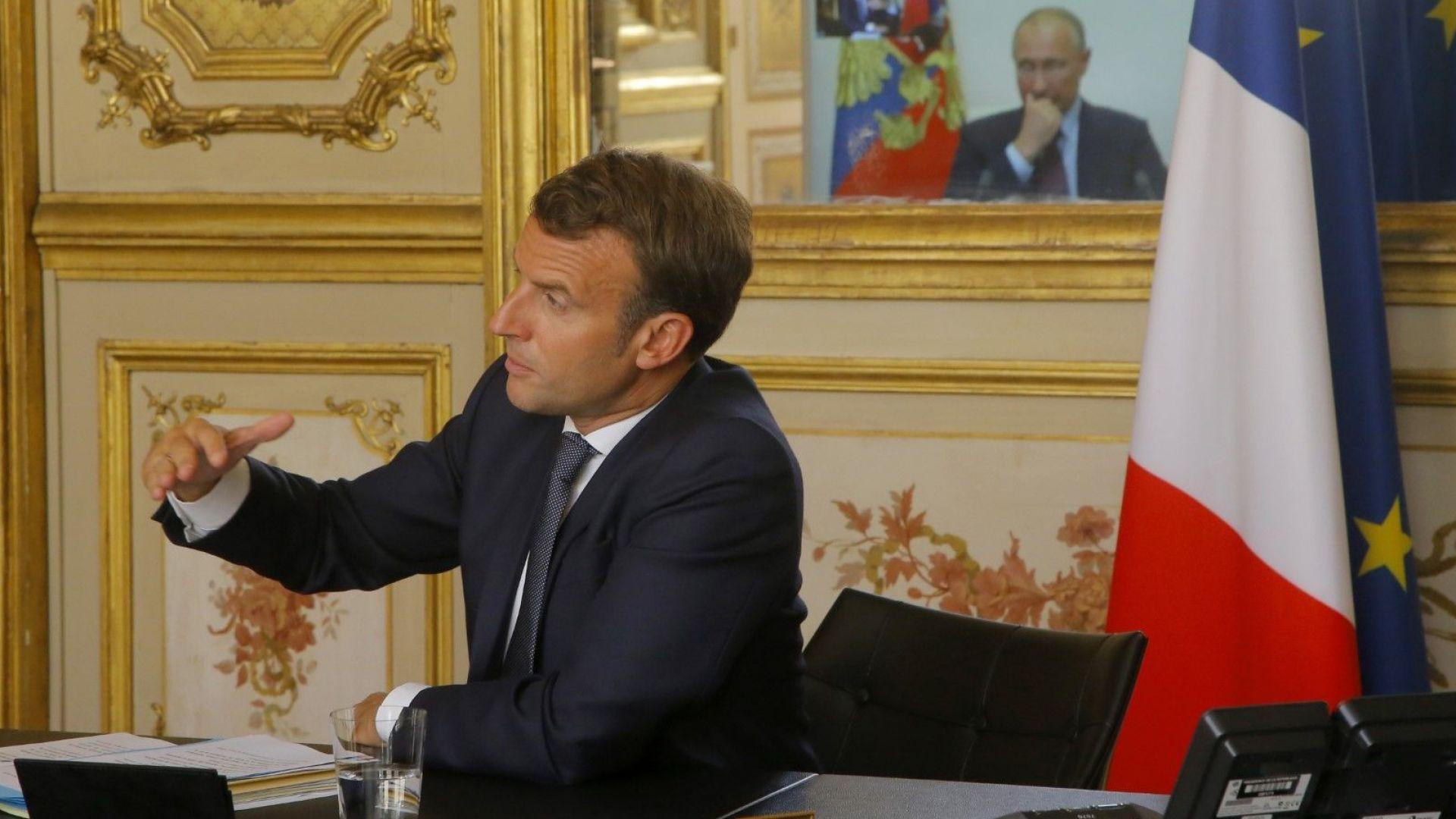 Макрон е уверен, че е възможно  постигането на напредък с Русия по ключови въпроси