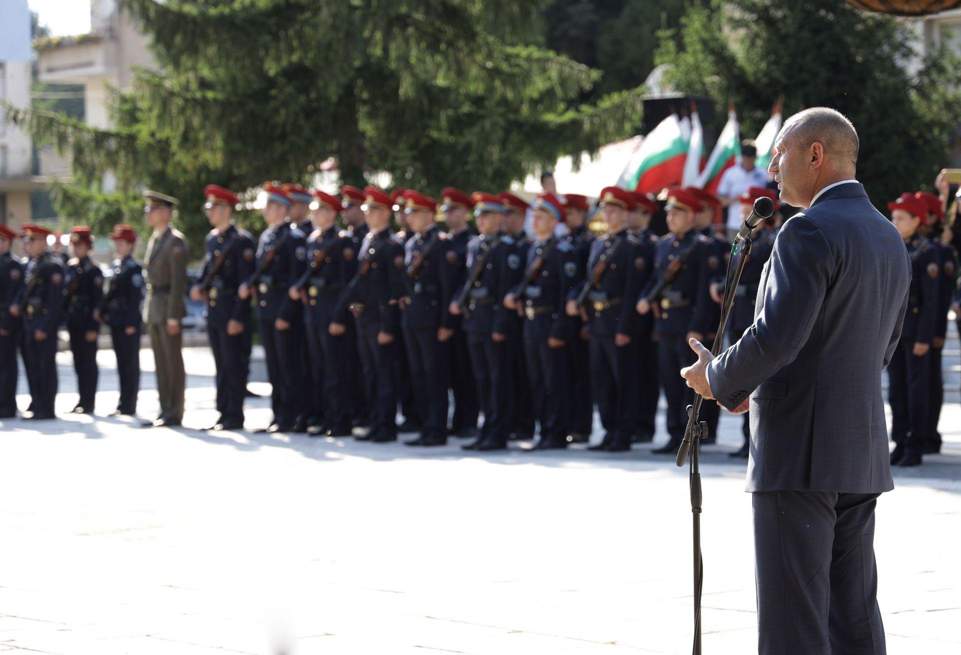 Президентът Румен Радев участва в тържественото честване на празника на Каспичан