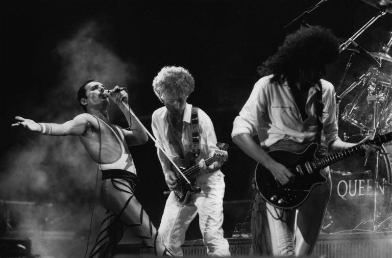 Queen на концерт през 1984 г.