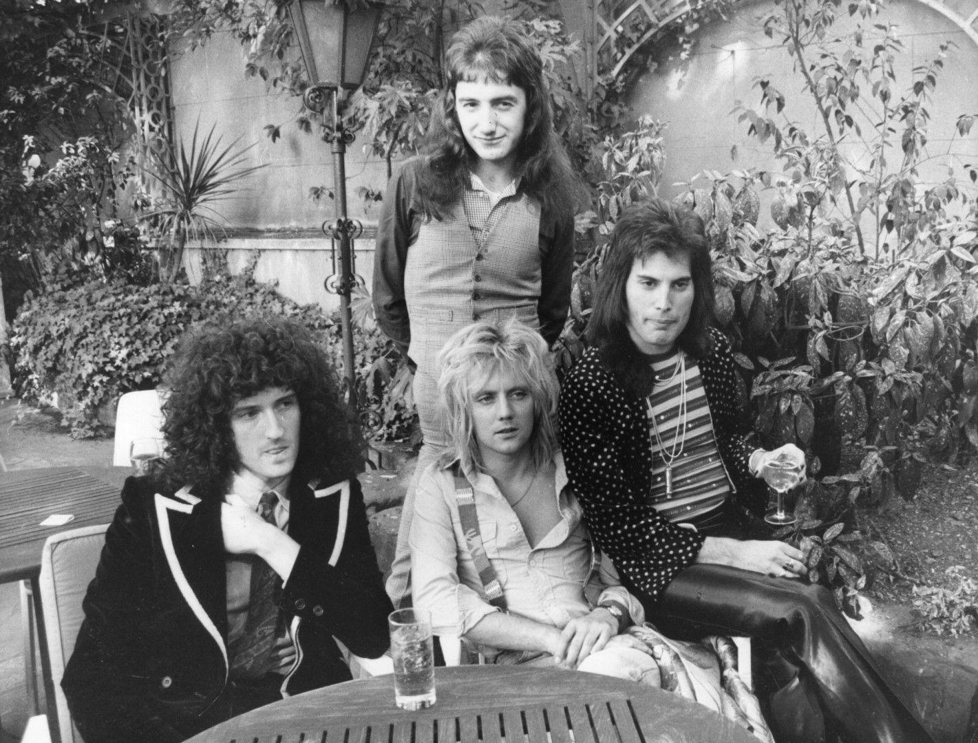 Британската група Queen през 1976 г.