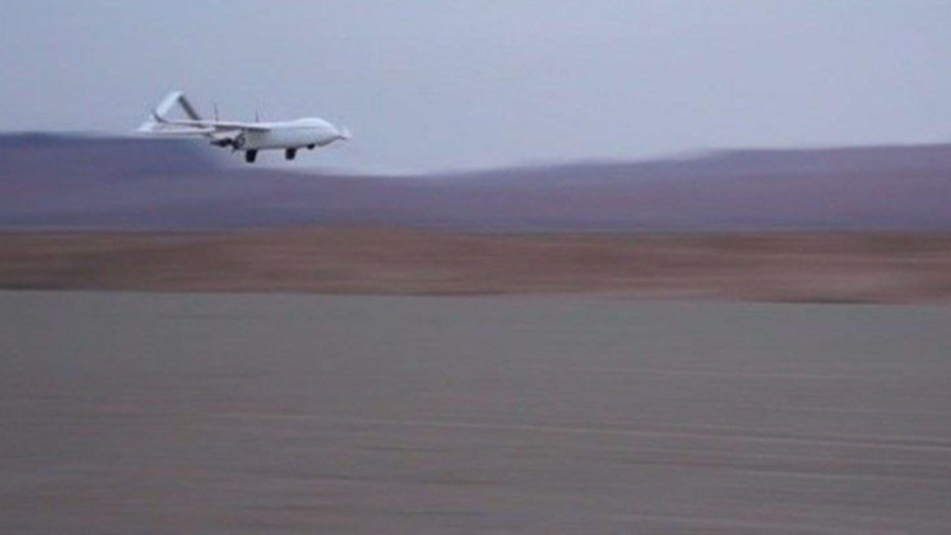 Иран показа новия си разузнавателен дрон (видео)
