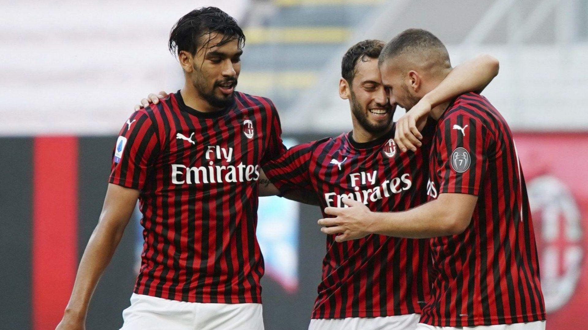 Милан спечели дерби в жегата