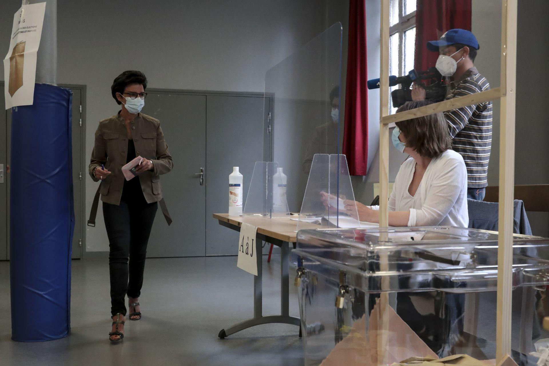 кКандидатката на десницата Рашида Дати за кмет на Париж
