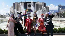 През юли  детските спектакли на Музикалния театър са на открито